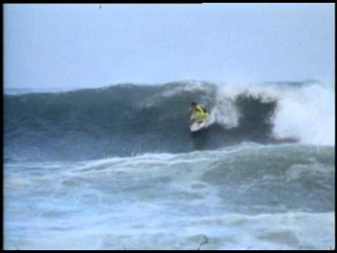 Shaun tomson at J-Bay 1978 and 1988.