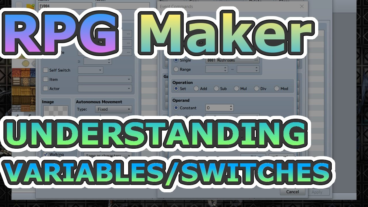 RPG Maker - Understanding Variables/Switches w/Examples