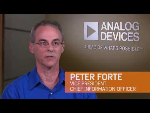 Working in Corporate Information Services at Analog Devices