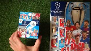 Topps UEFA Champions League 2017/18 Stickers After 30 Packs   ????????????