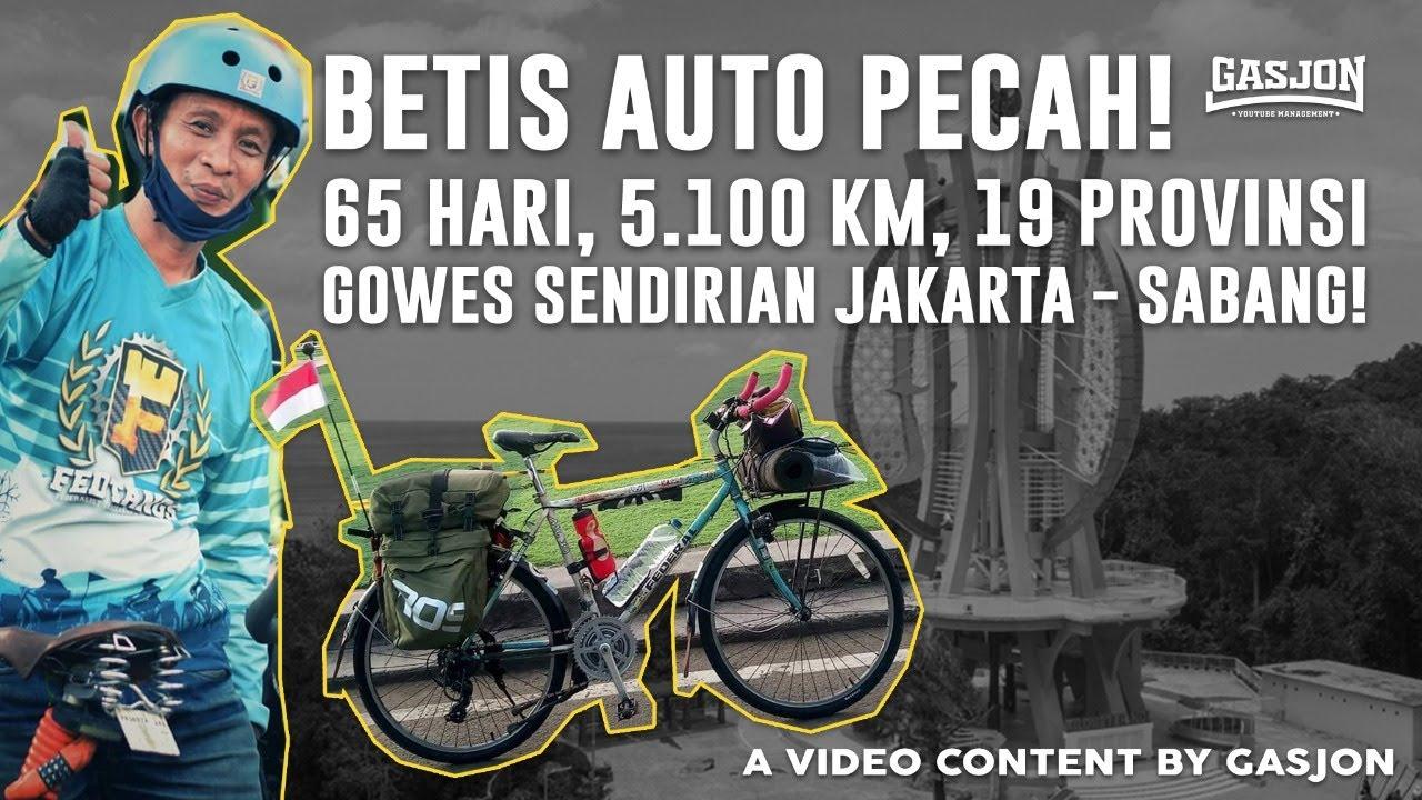 Download NAIK SEPEDA 69HARI, 5100KM JAKARTA-SABANG-JAKARTA. EDYANN COKK! #GASJON