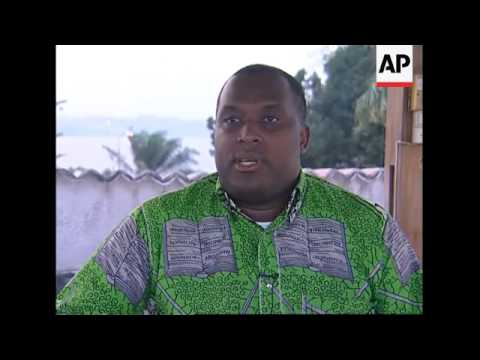 Intw with candidate Nzanga Mobutu, son of former leader Mobutu Sese Seko
