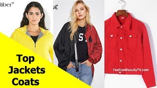 Top 50 Best Jackets and Coats for Women | Best Basic Jackets for Ladies S5
