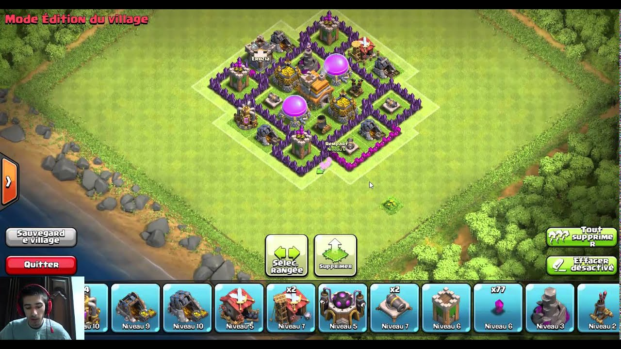 [HDV 9] Village de Wario pour champion ! Clash of Clans France