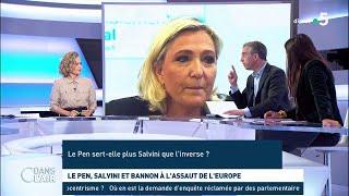Le Pen, Salvini et Bannon à l'assaut de l'Europe - Les questions SMS #cdanslair 20.05.2019