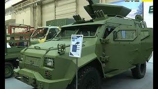 Український бойовий модуль із спареними стволами представили на виставці