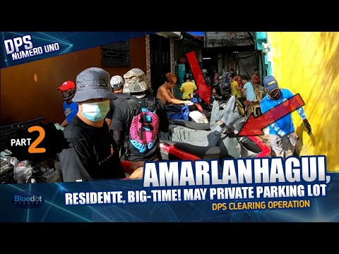 BIG-TIME PRIVATE PARKING LOT NG RESIDENTE!   |  DPS CLEARING OPERATION  12-09-2020