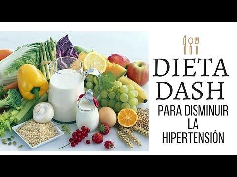 DIETA DASH PARA DISMINUIR LA HIPERTENSIÓN