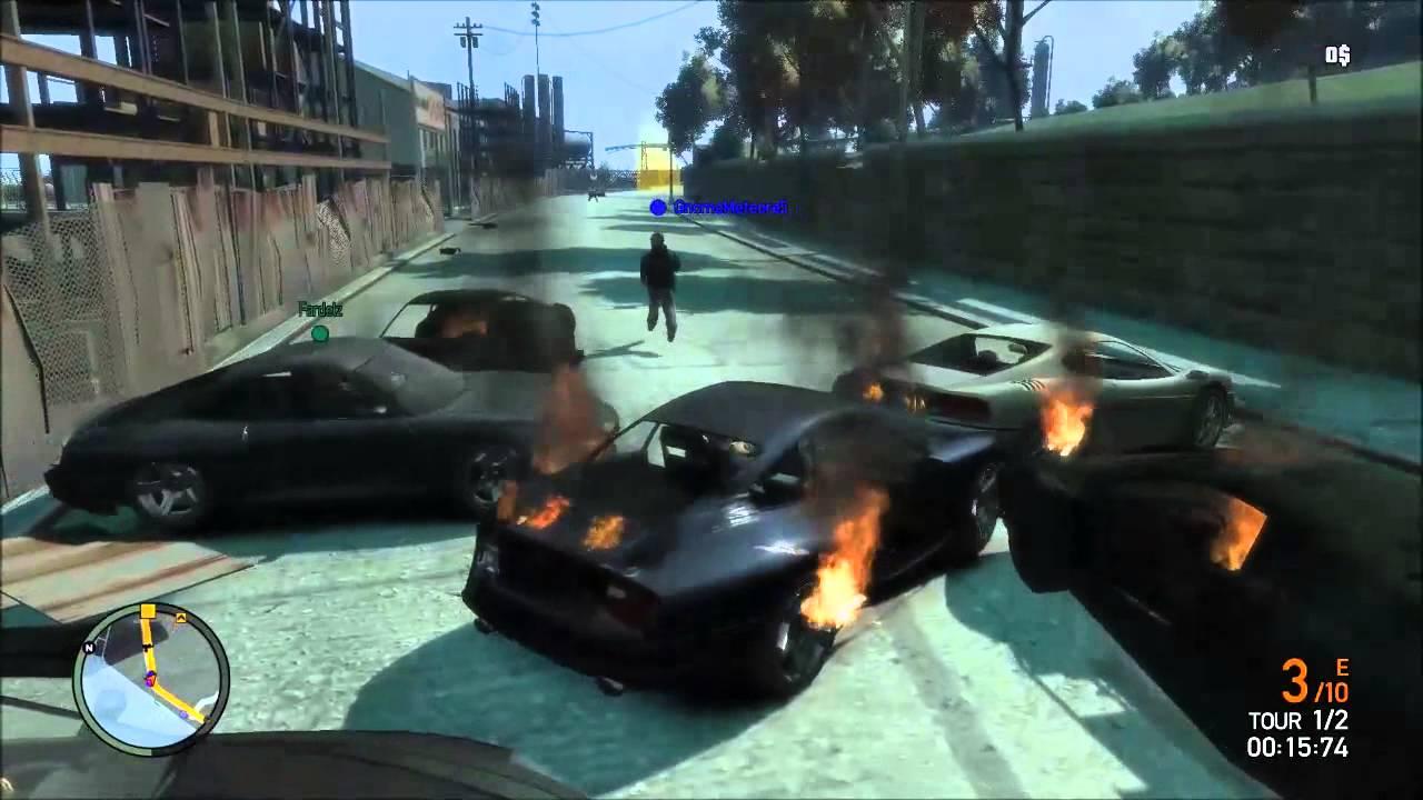 Départ apocalyptique sur GTA IV - QuozGaming
