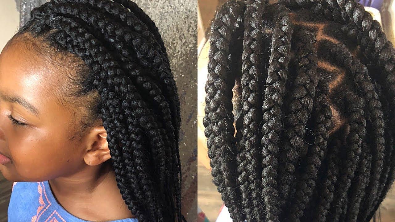 box braid like a professional on 4c hair  neat braids