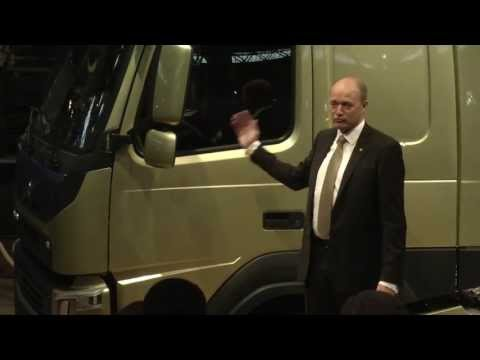 Volvo Trucks - Public debut of the new Volvo FM (full press conference)