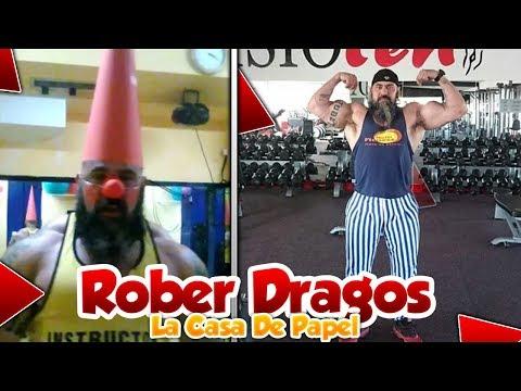 OSLO de LA CASA DE PAPEL en la VIDA REAL!! Rober Dragos