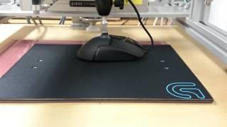 Stress test capteur de souris Logitech