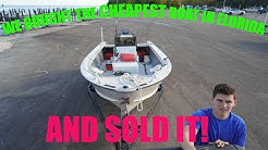 We bought the CHEAPEST (working) boat for sale in Florida
