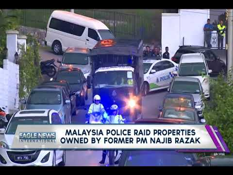 Malaysia police raid properties owned by former PM Najib Razak