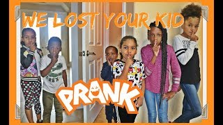 We Lost Your kid Prank On BEAM SQUAD