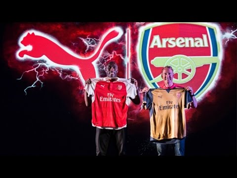 Arsenal India 2015 Puma Kit-Launch