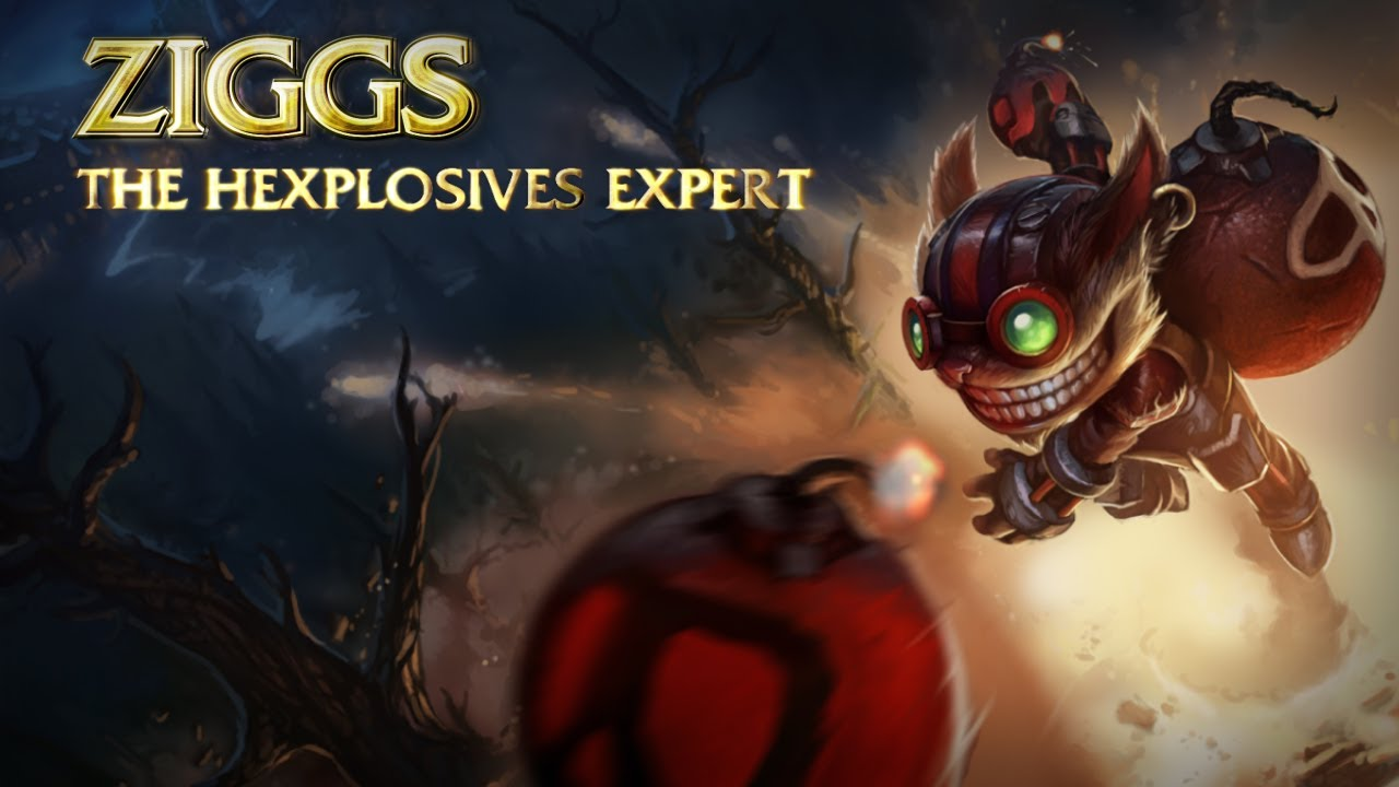 ziggs the hexplosives expert