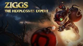 Ziggs: Champion Spotlight | Gameplay - League of Legends