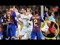 مشاجرات الكلاسيكو بين لاعبي ريال مدريد وبرشلونه