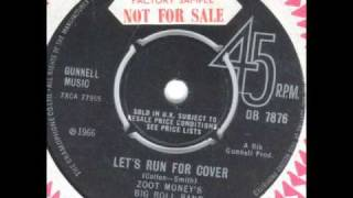 "Zoot Moneys Big Roll Band  ""Lets run for cover"""