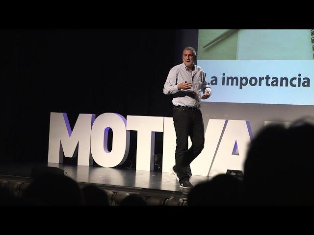 Juanma Iturriaga en el #MotivadoresTour de Bilbao