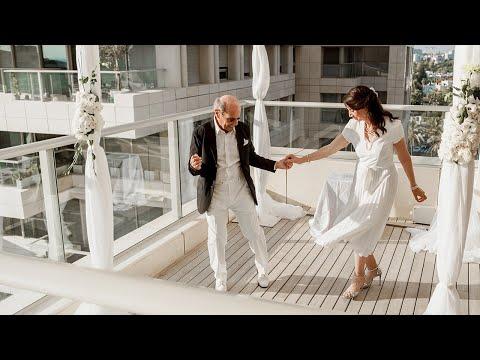 Gabriel And Juliette. Wedding Clip. Tel-Aviv, Israel