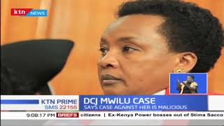 "Deputy Chief Justice Philomena Mwilu, ""this is not prosecution, it's persecution"""