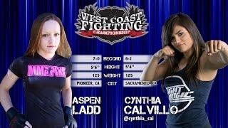 WFC 9 - Aspen Ladd vs. Cynthia Calvillo