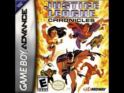 Justice League: Chronicles (GBA) - walkthrough part 1.