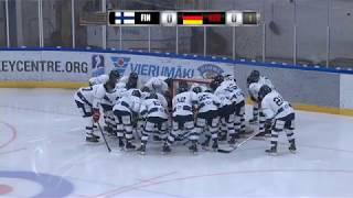 U16 FIN-GER // 19.10.2018 Vierumäki