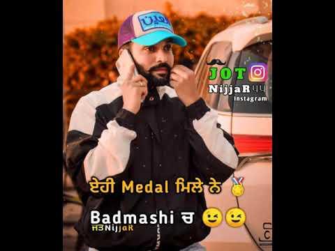Gunda Gunda Dilpreet Dhillon Whatsapp Status | Latest Punjabi Songs 2019 | Punjabi Whatsapp Status