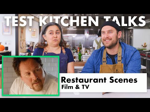 Pro Chefs Review Restaurant Scenes In Movies | Test Kitchen Talks | Bon Appétit