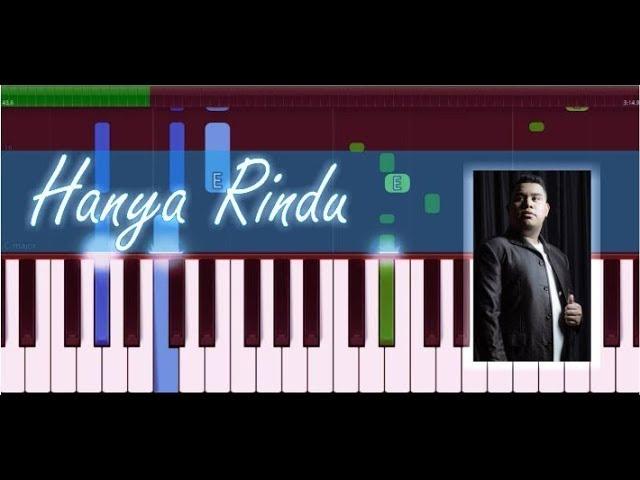 Andmesh Kamaleng Hanya Rindu Piano Tutorial Youtube