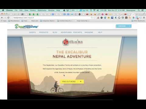 The Excalibur Society Nepal Adventure The Details Revealed by Ken Krell!