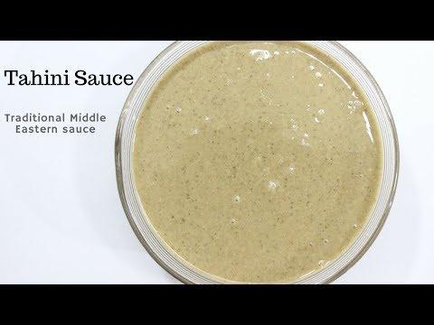 how to make tahini sauce