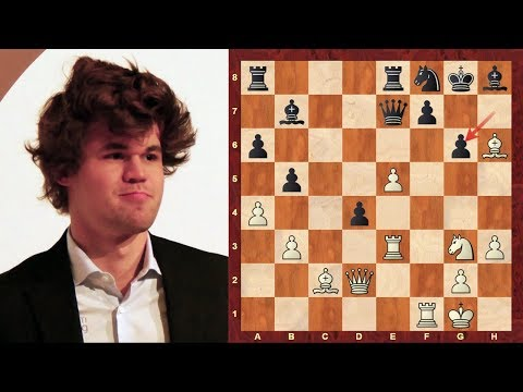 Magnus Carlsen Top Chess Sacrifices in 2005 - The Mozart of Chess!