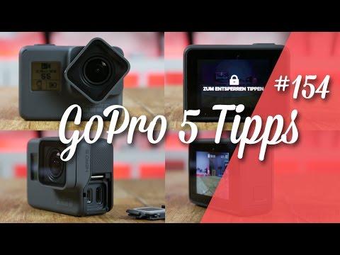 GoPro Hero 5 Black Tipps // deutsch // in 4K // #154