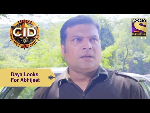 Your Favorite Character | Daya Looks For Abhijeet In The Jungle | CID