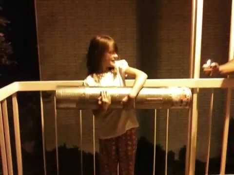 Little girl Tongan cannon