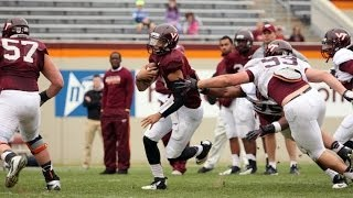 Virginia Tech Hokies  Full Spring Football GAME HD 2014