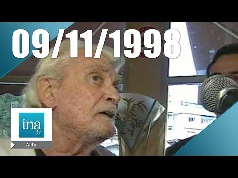 20h France 2 du 09 novembre 1998  Jean Marais est mort  Archive INA