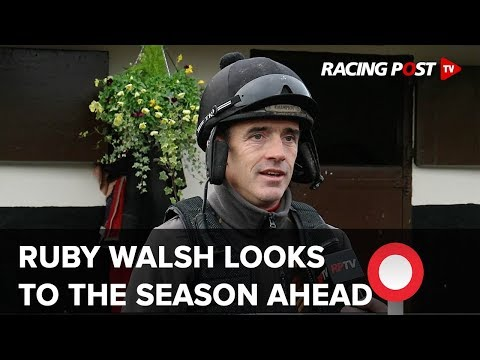 Ruby Walsh 'firing on all cylinders' after injury prone year