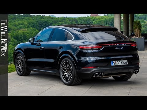 2020 Porsche Cayenne S Coupe | Moonlight Blue Metallic | Exterior, Interior