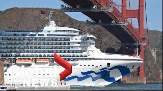 Coronavirus outbreak: Grand Princess cruise ship docks in Oakland, Calif.
