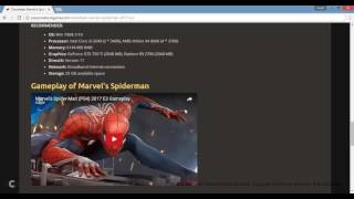 How to Download And Install Spiderman 2017 On PC
