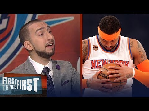 Carmelo Anthony traded to the Thunder: 'Hell Yes' it makes them a contender | FIRST THINGS FIRST