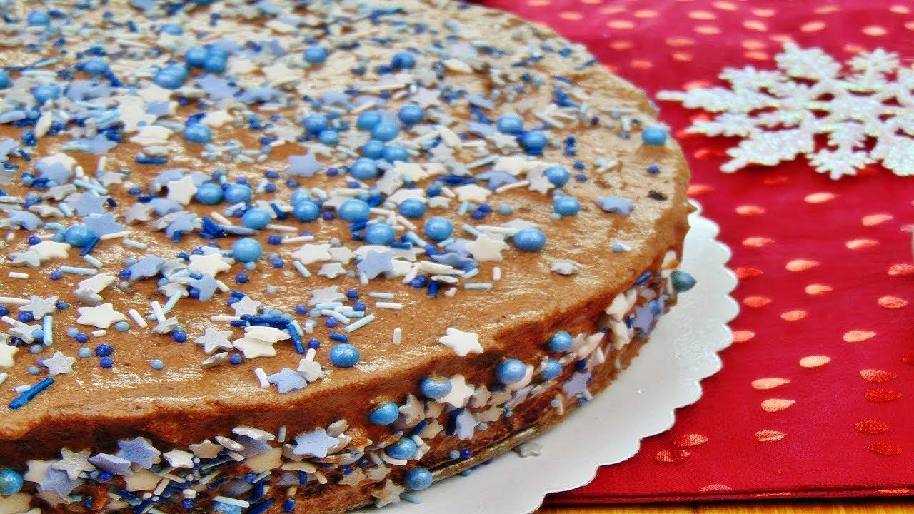 Rezept Konfetti Weihnachts Torte Adventskalender 13 Turchen