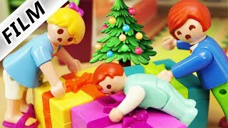 Playmobil Film deutsch   X-MAS GESCHENKE HEIMLICH ÖFFNEN - Fällt das auf?   Kinderfilm Familie Vogel