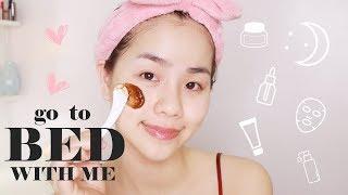 Các Bước Chăm Sóc Da Buổi Tối Hàng Ngày ♡ Wishtrend Products Review ♡ Quin